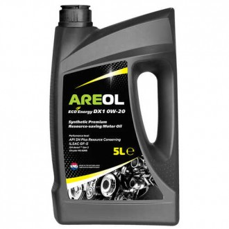 Areol ECO Energy DX1 0W-20 5л